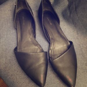 Calvin Klein Leather d'Orsay Flats - 9